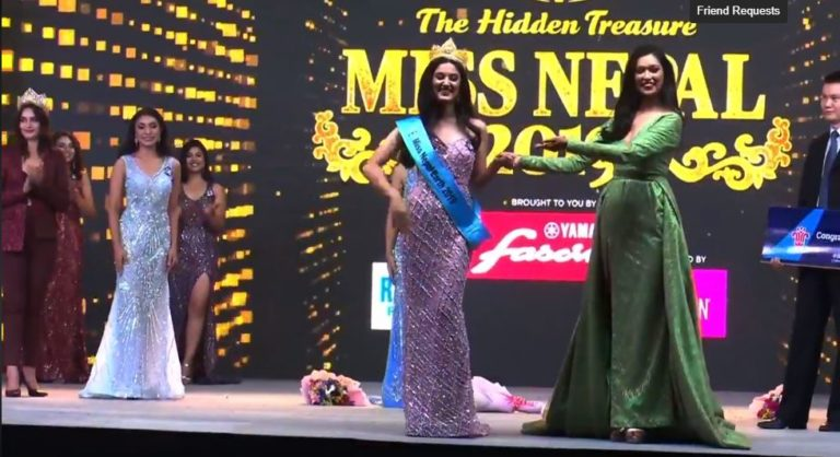 Miss Nepal 2019_Miss_Earth