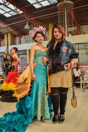 Fashion Show In A Beauty Expo